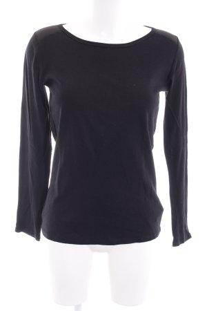 Gap Sweat Shirt black minimalist style