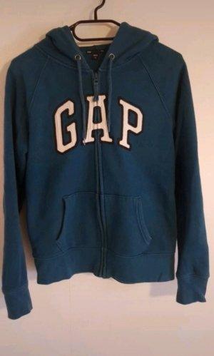 Gap Veste sweat bleu pétrole