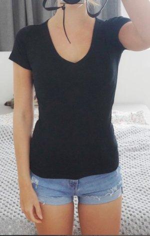 GAP T-Shirt Baumwolle schwarz XS 34