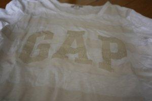 GAP T-shirt weiß gestreift