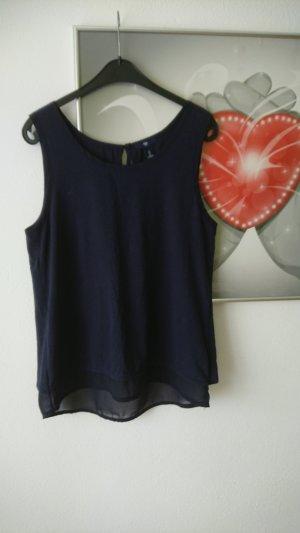 Gap Lang shirt donkerblauw Viscose