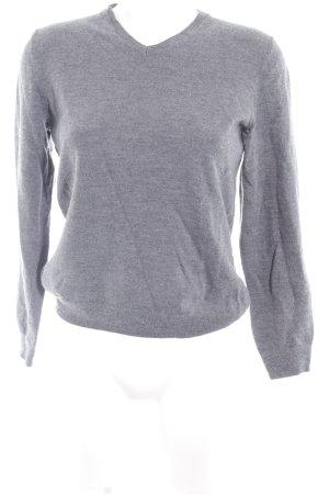 Gap V-Ausschnitt-Pullover grau