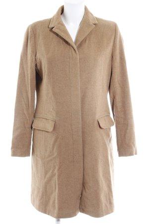 Gap Manteau en laine brun sable style décontracté
