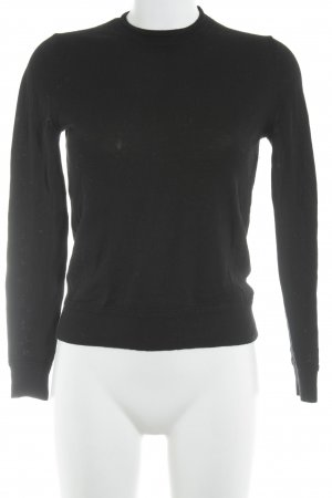 Gap Wollpullover schwarz Casual-Look