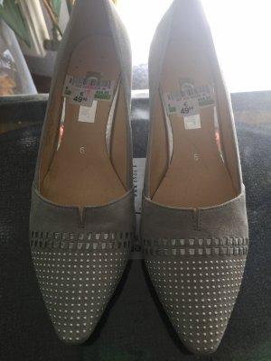 Gabor Zapatos Informales gris claro Cuero