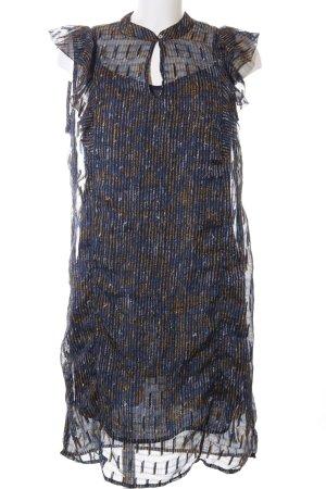 Garcia Jeans Blusenkleid abstraktes Muster Party-Look