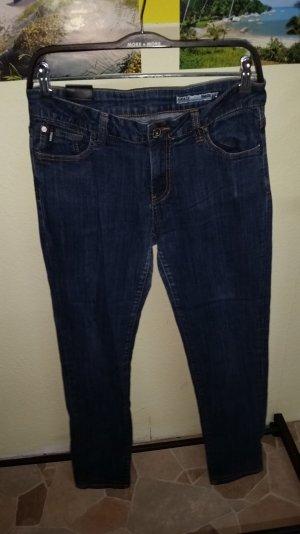 garcia jeans gr. 31 röhre blau