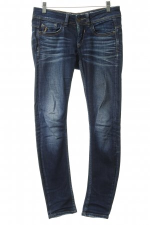 Garcia Jeans Hüftjeans meliert Jeans-Optik
