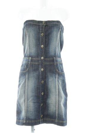 Garcia Jeans Jeanskleid mehrfarbig Casual-Look