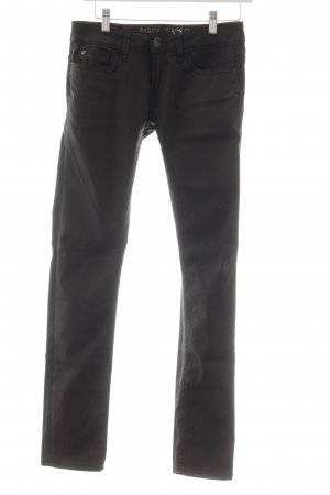 Garcia Jeans Leather Trousers black casual look