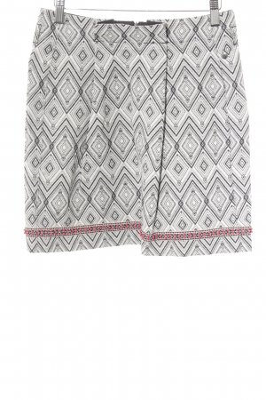 Garcia Jeans Minirock abstraktes Muster Casual-Look