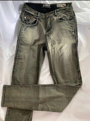 Garcia Jeans NEU Gr.36/38 oliv dirty washed