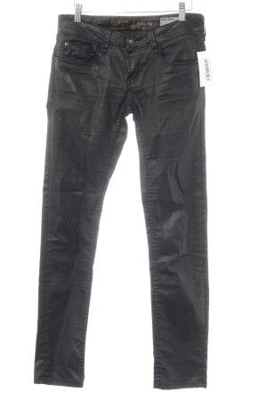 Garcia Jeans Röhrenhose schwarz Casual-Look