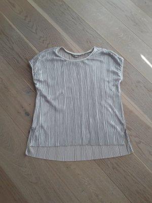 Garcia Jeans Camisa acanalada color plata-color oro