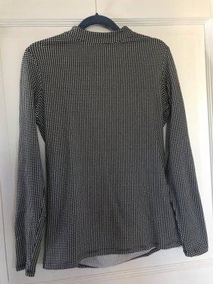 Garcia Jeans Shirt schwarz weiß Gr. S