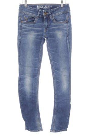 Garcia Jeans Skinny Jeans blau