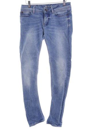 Garcia Jeans Skinny Jeans blau Casual-Look