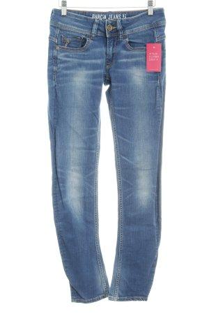 Garcia Jeans Skinny Jeans kornblumenblau Casual-Look
