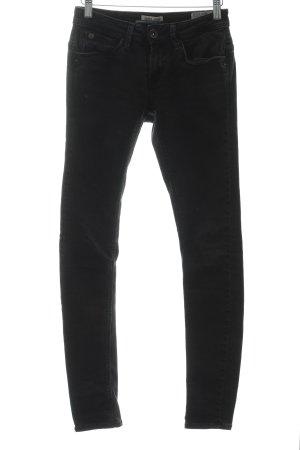 Garcia Jeans Skinny Jeans schwarz Casual-Look