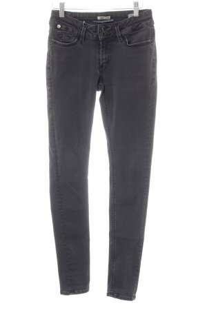 Garcia Jeans Slim Jeans anthrazit Washed-Optik