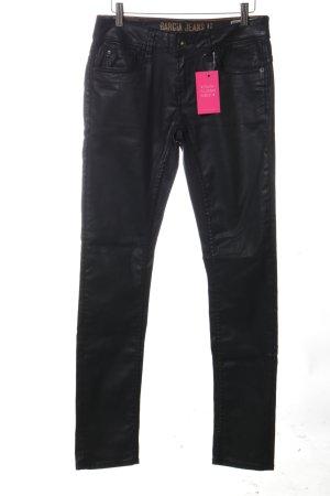 Garcia Jeans Slim Jeans schwarz extravaganter Stil