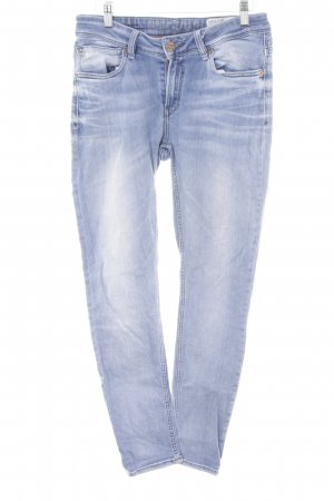 Garcia Jeans Stretch Jeans stahlblau Casual-Look