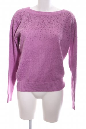 Garcia Jeans Strickpullover pink Casual-Look