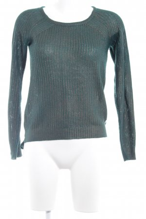 Garcia Jeans Strickpullover waldgrün Casual-Look