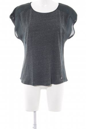 Garcia Jeans T-Shirt waldgrün Casual-Look