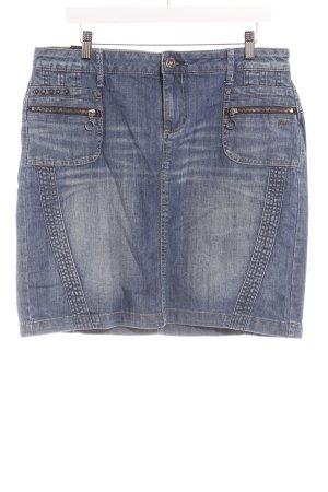 Garcia Jeansrock himmelblau Jeans-Optik