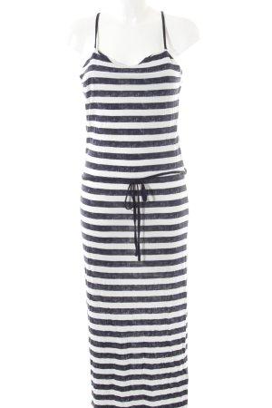 Garcia Strandkleid weiß-dunkelblau Streifenmuster Beach-Look