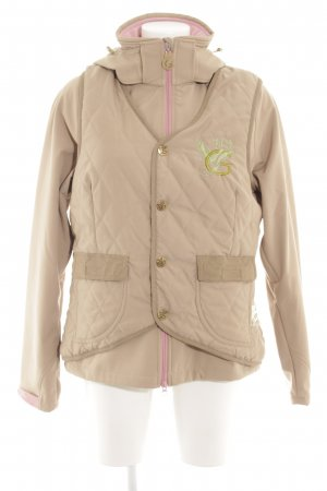 Garden Girl Double Jacket monogram pattern athletic style