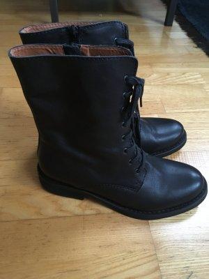 Gardenia Copenhagen Schnürstiefel Leder Boots Stiefel