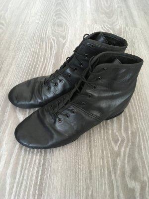Gardetanz Stiefel aus Leder