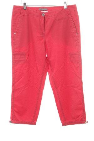 Gardeur Pantalón tobillero rojo claro look casual