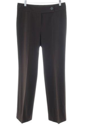 Gardeur Pantalone da abito nero stile professionale