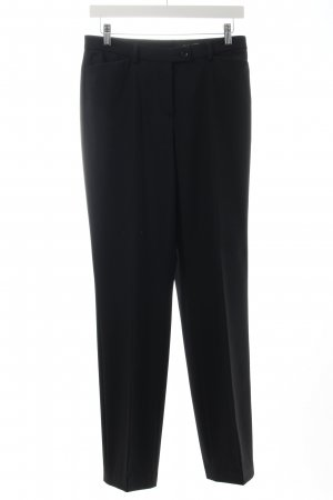 Gardeur Anzughose schwarz Eleganz-Look