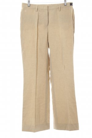 Gardeur Bundfaltenhose creme Business-Look