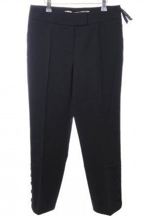 Gardeur Bundfaltenhose schwarz Business-Look