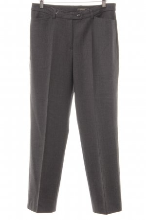 Gardeur Bundfaltenhose grau meliert Business-Look