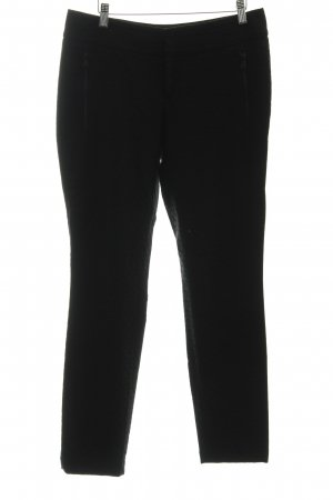 Gardeur Bundfaltenhose schwarz Inside-Out-Druck Business-Look