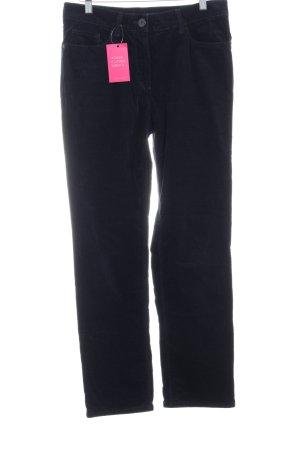 Gardeur Corduroy Trousers dark blue casual look