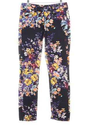 Gardeur Pantalone cinque tasche motivo floreale stile stravagante