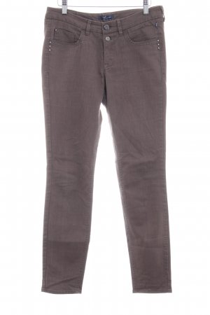 Gardeur Five-Pocket-Hose graubraun Casual-Look