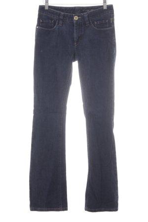Gardeur Jeans flare bleu foncé style décontracté