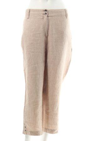 Gardeur Leinenhose beige Casual-Look