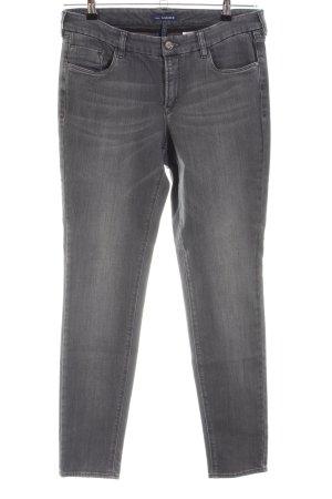Gardeur Jeans cigarette gris clair style décontracté