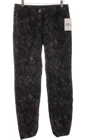 Gardeur Skinny Jeans florales Muster Casual-Look