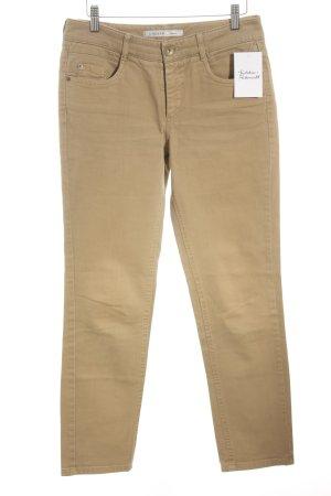 Gardeur Slim Jeans hellbraun Casual-Look