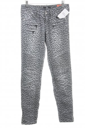 Gardeur Slim Jeans taupe-grau Leomuster Casual-Look